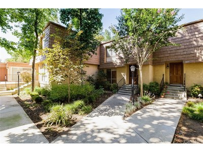 Agoura Hills Condo/Townhouse Sold: 4031 Yankee Drive