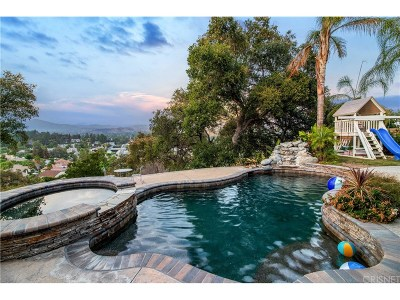 Agoura Hills Single Family Home Sold: 29203 Deep Shadow Drive