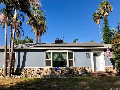 Burbank Single Family Home For Sale: 801 North Beachwood Drive