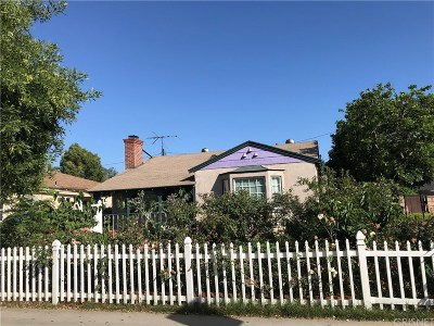 Burbank Single Family Home For Sale: 1716 West Clark