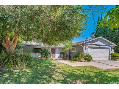 Woodland Hills Single Family Home For Sale: 20765 Clark Street