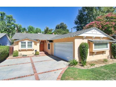 Woodland Hills Single Family Home For Sale: 4530 Santa Lucia Drive