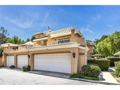 Valencia Condo/Townhouse For Sale: 24001 Arroyo Park Drive #80