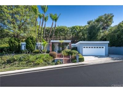 Encino Single Family Home Sold: 3710 Ballina Canyon Road