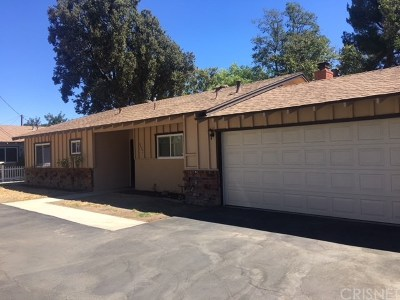 Newhall Single Family Home For Sale: 24724 Kansas Street