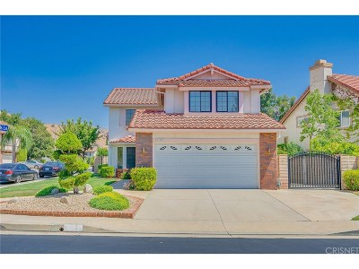 Porter Ranch Single Family Home For Sale: 19753 Crystal Hills Drive