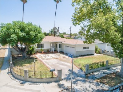Single Family Home For Sale: 10522 Cedros Avenue