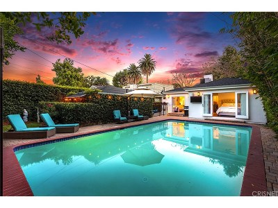 Studio City Single Family Home For Sale: 4386 Camellia Avenue