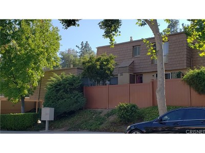 Agoura Hills Condo/Townhouse For Sale: 4021 Yankee Drive