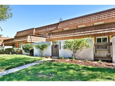 Chatsworth Condo/Townhouse For Sale: 10226 Larwin Avenue #3