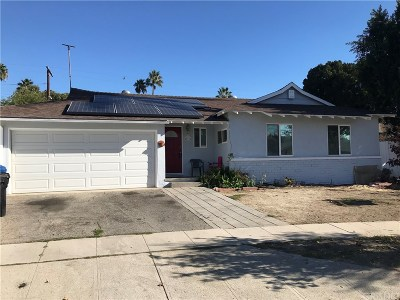 North Hollywood Single Family Home For Sale: 7124 Nagle Avenue