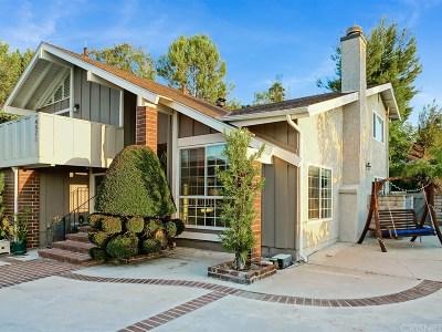 Woodland Hills Single Family Home For Sale: 4571 Poe Avenue
