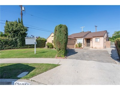 North Hollywood Single Family Home For Sale: 12023 Willard Street