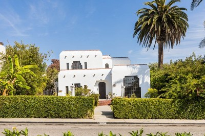 Santa Monica Single Family Home For Sale: 710 Adelaide Place