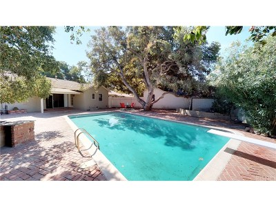 Newhall Single Family Home For Sale: 24755 Golden Oak Lane