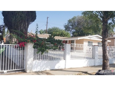 Sylmar Single Family Home For Sale: 12931 Macneil Street