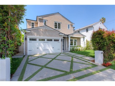 Valley Village Single Family Home For Sale: 5151 Bellaire Avenue