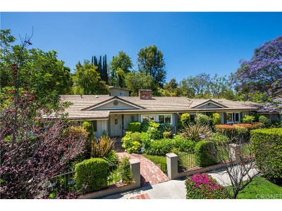 Encino Single Family Home Sold: 16240 Dickens Street
