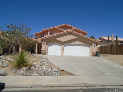 Rosamond Single Family Home For Sale: 2849 Owens Way