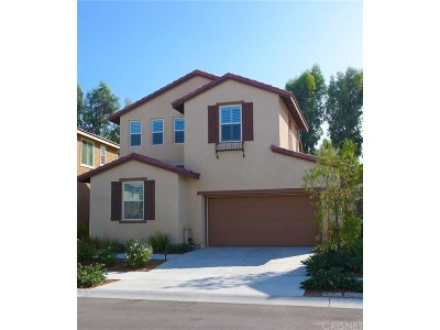 Canyon Country Single Family Home For Sale: 26861 Trestles Drive