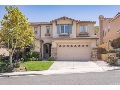 Canyon Country Single Family Home For Sale: 17678 Wren Drive