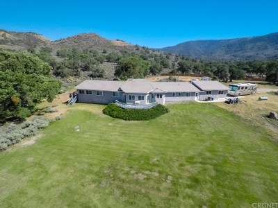 Tehachapi Single Family Home For Sale: 18334 Old Ranch Road
