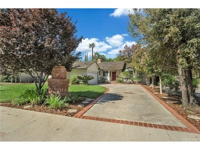Tarzana Single Family Home For Sale: 5715 Cahill Avenue
