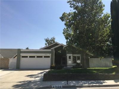 Valencia Single Family Home For Sale: 27622 Maple Ridge Circle