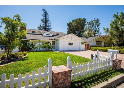 Woodland Hills Single Family Home Sold: 22528 Berdon Street