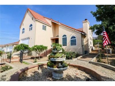 Sylmar Single Family Home For Sale: 11027 Gaston Drive