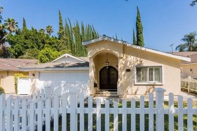 Encino Single Family Home For Sale: 4934 Swinton Avenue