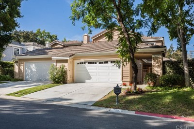 Westlake Village Condo/Townhouse For Sale: 5669 Tanner Ridge Avenue