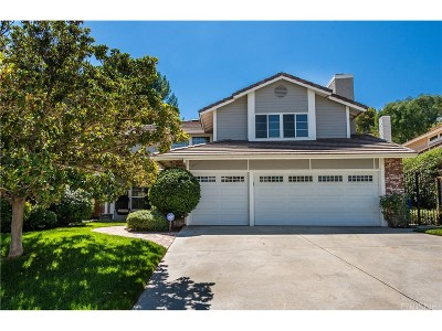 Saugus Single Family Home For Sale: 21744 Agajanian Lane