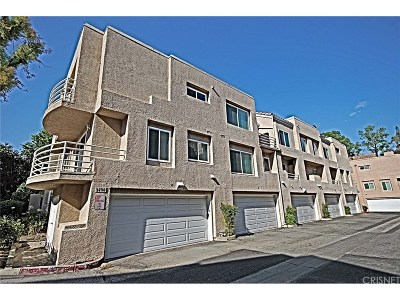 Stevenson Ranch Condo/Townhouse For Sale: 25703 Holiday Circle #B