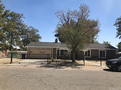 Lancaster Single Family Home For Sale: 40956 172nd Street East