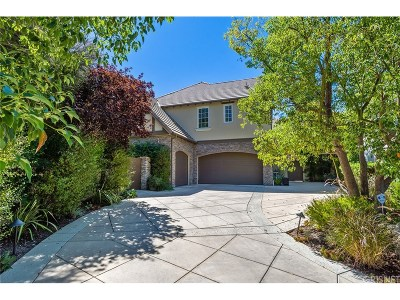 Calabasas Single Family Home Sold: 3801 Prado Del Trigo