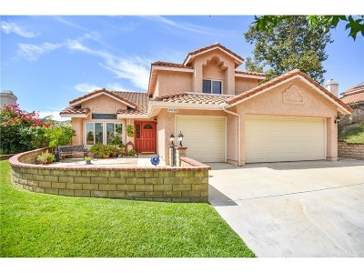 Stevenson Ranch Single Family Home For Sale: 24708 Sagecrest Circle