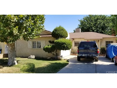 Newhall Single Family Home For Sale: 25022 Newhall Avenue