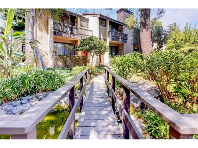 Woodland Hills Condo/Townhouse For Sale: 21900 Marylee Street #269