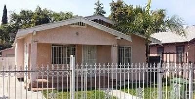 Compton Single Family Home For Sale: 1010 East Stockton Avenue
