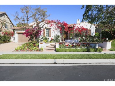 Calabasas CA Single Family Home For Sale: $2,795,000