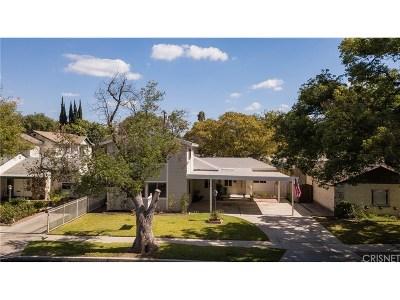 Reseda Single Family Home For Sale: 6856 Bertrand Avenue