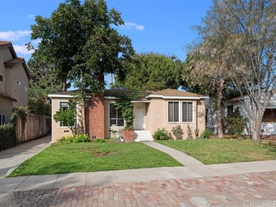 Burbank Single Family Home For Sale: 1029 North Fairview Street