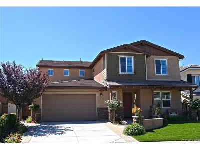 Saugus Single Family Home For Sale: 22526 Brightwood Place