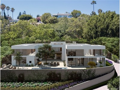 Los Angeles Single Family Home For Sale: 11001 West Sunset Boulevard