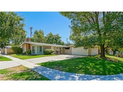 Saugus Single Family Home For Sale: 22716 Calvello Drive