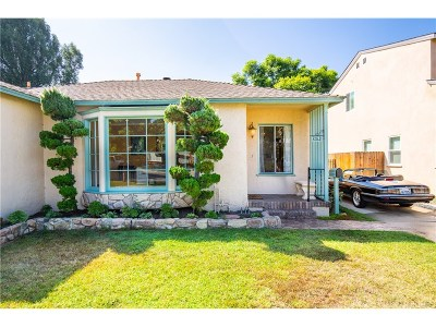 Culver City Single Family Home For Sale: 5312 Kalein Drive