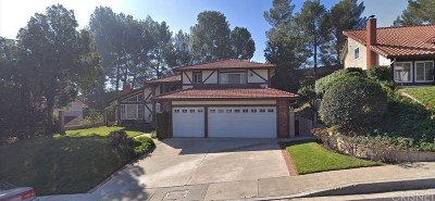 Porter Ranch Single Family Home For Sale: 11853 Darby Avenue