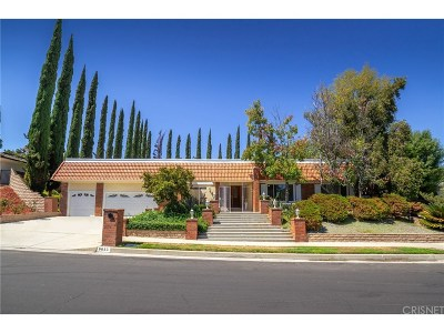 Los Angeles County Single Family Home For Sale: 9653 Amestoy Avenue