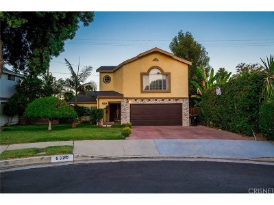 Los Angeles County Single Family Home For Sale: 6320 Yarmouth Avenue